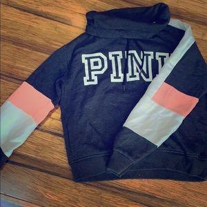 PINK labeled sweatshirt